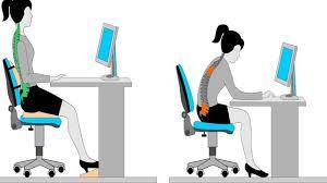 Tác hại của việc ngồi sai tư thế khi làm việc | Sở Y tế Nam Định
